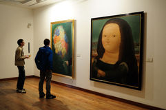 Museo Botero - Bogota royalty free illustration