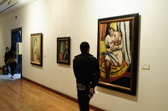 Museo Botero - Bogota royalty-vrije stock afbeeldingen