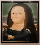 Museo Botero museum paintings La Candelaria Bogota Colombia Royalty Free Stock Photo