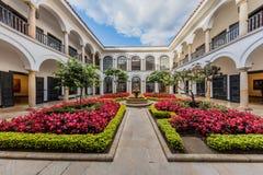Museo Botero museumLa Candelaria Bogota Colombia Arkivfoton