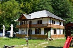 Museo campesino rumano en Dumbrava Sibiului, Transilvania Imágenes de archivo libres de regalías