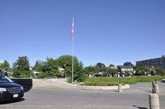 Museo canadese del parco di storia da Ottawa nel Canada fotografie stock