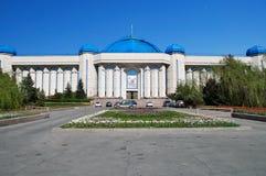 Museo centrale dello stato della Repubblica del Kazakistan immagine stock