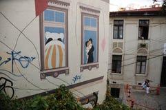 Museo a Cielo Abierto. Valparaiso Stock Images
