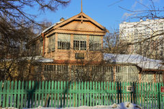 Museo commemorativo del poeta e dello scrittore russi Andrey Bely in Kuchino, regione di Mosca Fotografia Stock