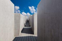 Museo commemorativo di olocausto ebreo, Berlino Fotografia Stock Libera da Diritti