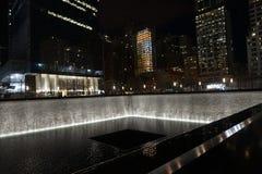9/11 museo conmemorativo, punto cero, WTC Imagen de archivo