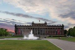 Museo de Altes en Berlín Imagen de archivo libre de regalías
