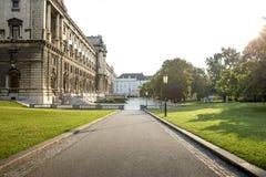 Museo de Art History en Viena, Austria Foto de archivo