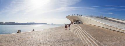 Museo de arte, arquitectura y tecnología Imagenes de archivo