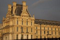 Museo de arte de la lumbrera en París foto de archivo libre de regalías