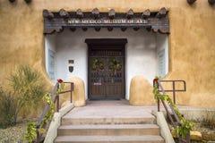 Museo de arte de New México foto de archivo libre de regalías