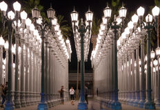 Museo de arte del condado de Los Angeles Fotografía de archivo libre de regalías