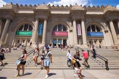 Museo de arte del metropolitano de NYC Imagen de archivo libre de regalías