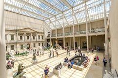 Museo de arte metropolitano, New York City, los E.E.U.U. Fotografía de archivo