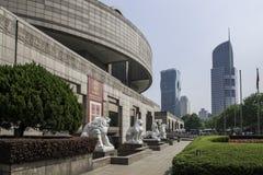 Museo de arte Shangai Foto de archivo libre de regalías