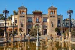 Museo de arte y aduanas populares - Sevilla imagen de archivo