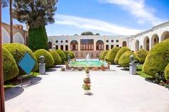 Museo de artes decorativo en Esfahan, Irán fotos de archivo