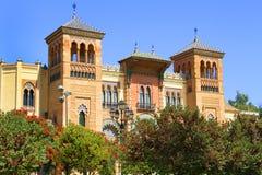 Museo de Artes y Costumbres Populares imagen de archivo libre de regalías
