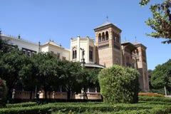 Museo de Artes y Costumbres Populares de Sevilla foto de archivo libre de regalías