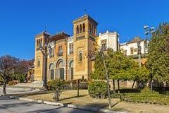 Museo de artes y de tradiciones en Sevilla fotos de archivo libres de regalías