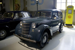 Museo de Autoworld, Bruselas, Bélgica, el 10 de julio de 2016 fotos de archivo