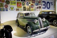 Museo de Autoworld, Brusells, Bélgica, el 10 de julio de 2016 imagenes de archivo