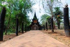 Museo de Baandam en ChiangRai, Tailandia fotografía de archivo libre de regalías