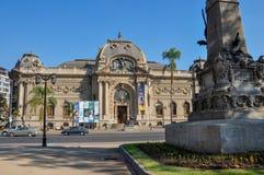 Museo de bellas arte, Santiago, Chile Fotos de archivo