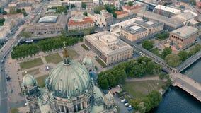 Museo de Berlin Cathedral Church y de Altes almacen de video