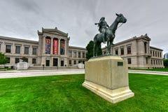 Museo de Boston de bellas arte imagen de archivo libre de regalías