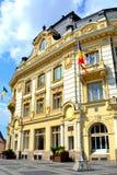 Museo de Bruckenthal en Sibiu, capital europea de la cultura por el año 2007 Imagen de archivo libre de regalías