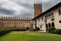Museo de Castelvecchio en la ciudad de Verona, Italia septentrional Imagenes de archivo