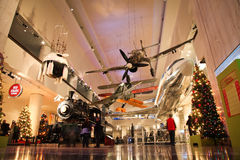 Museo de Chicago de la ciencia y de la industria fotos de archivo libres de regalías