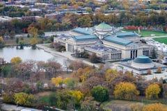 Museo de Chicago de la ciencia y de la industria Imagen de archivo libre de regalías