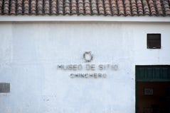 Museo de Chinchero Foto de archivo libre de regalías