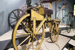 Museo de ciencia de Bloomfield que visita Jerusalén Imagenes de archivo