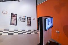 Museo de ciencia de Bloomfield que visita Jerusalén Imagen de archivo
