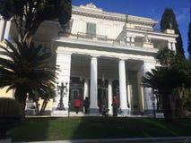 Museo de Corfú Grecia fotografía de archivo