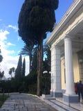 Museo de Corfú Grecia imagen de archivo
