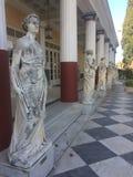 Museo de Corfú Grecia imagen de archivo libre de regalías