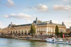 Museo de D'Orsay en París, Francia Fotos de archivo libres de regalías