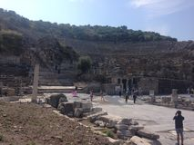 Museo de Ephesus fotografía de archivo libre de regalías
