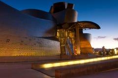 Museo de Guggenheim Imagen de archivo libre de regalías