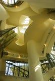 Museo de Guggenheim, Bilbao, país de Basc, España, visión interior Foto de archivo