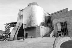 Museo de Guggenheim en Bilbao Imagenes de archivo