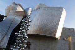Museo de Guggenheim en Bilbao Foto de archivo libre de regalías