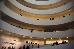 Museo de Guggenheim, Nueva York Fotografía de archivo