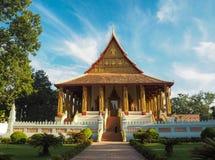Museo de Hor Phakeo en Vientián Foto de archivo