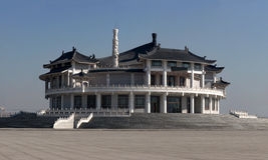 Museo de Huo Yuanjia, Tianjin, China Imagen de archivo libre de regalías